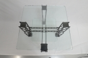 Furniture - End Table, Square, Modern / Industrial