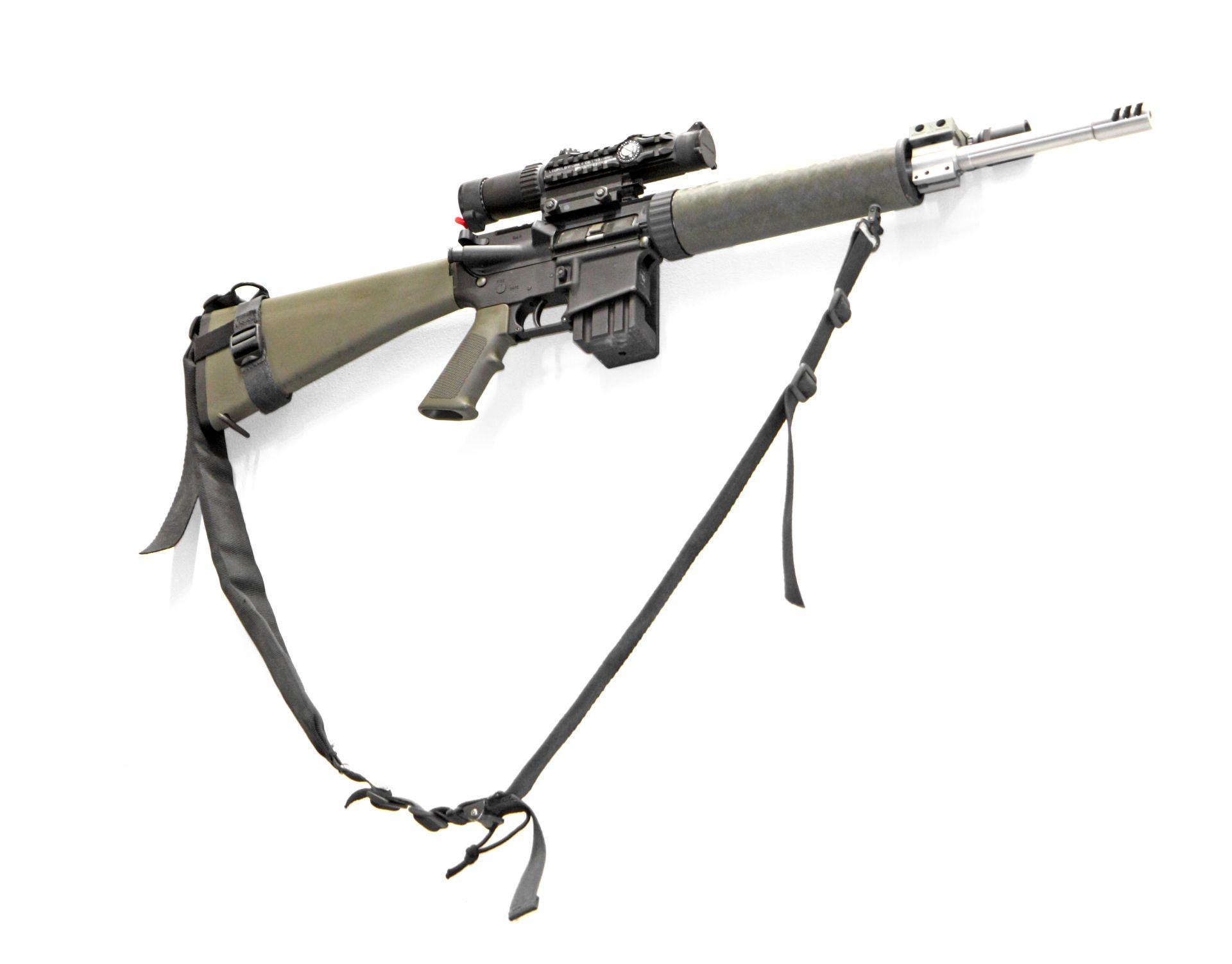 Hidden AR-15 Wall Mount