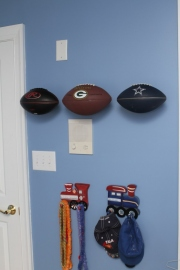 Invisi-ball Football Mount