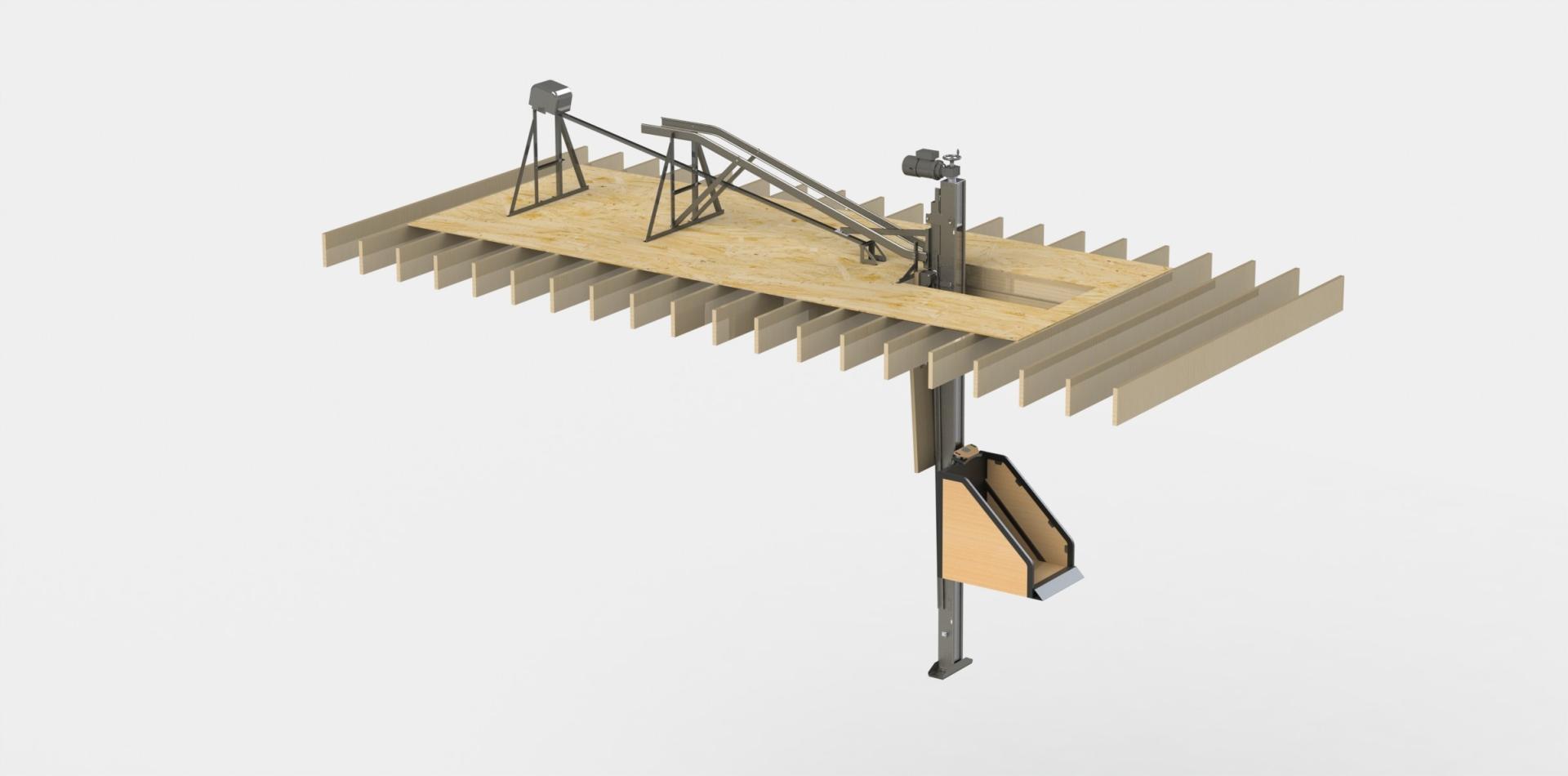 Stowaway Attic Lift