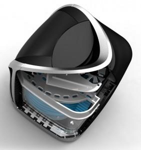 Cutaway View of SGBlue Air Purifier