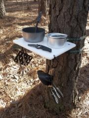 Camping Shelf / Organizer