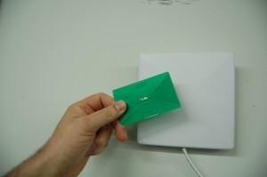RFID Detector Car in Use