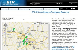 RTP Product Design Resources Map