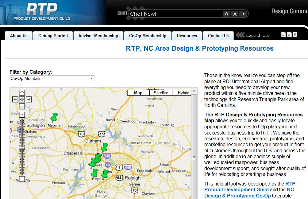 Rtp Map Montie Roland S Blog