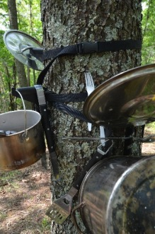 Putting the Camp Rack and Tree Hook to use