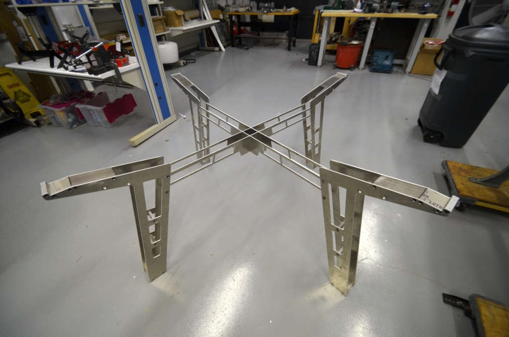 Bottom Section Assembled, Upper Truss is Next