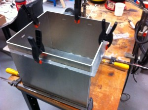Aluminum EMP Resistant Ready for Welding